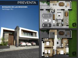Foto Casa en Venta en  Las Misiones,  Santiago  Casa en Venta en Proyecto- Bosques de Las Misiones-Carr. Nal. (MVO)