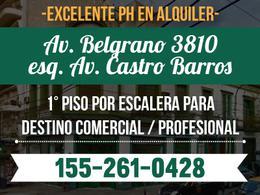 Foto thumbnail PH en Alquiler en  Almagro ,  Capital Federal  Av. Belgrano al 3800