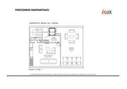 Departamento venta 3 dormitorios piso exclusivo y terraza exclusiva con quincho y solarium  vista rio - Centro