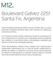 Foto Departamento en Venta en  Santa Fe,  La Capital  BOULEVARD GALVEZ al 2200