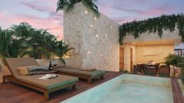 Foto Departamento en Venta en  Tulum ,  Quintana Roo  HERMOSO PENTHOUSE  2 REC. - ROOFTOP Y SWIM UP- LA VELETA TULUM