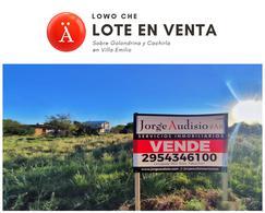 Foto Terreno en Venta en  Toay ,  La Pampa  Golondrina y Cachirla -Villa Emilio-