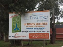 Foto Terreno en Venta en  La Pista,  Ingeniero Maschwitz  Barrio El Ensueño, Ing. Maschwitz al 100