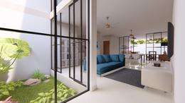 Foto Casa en condominio en Venta en  Pueblo Cholul,  Mérida  CASA DE TRES RECAMARAS UNA EN PB EN VENTA EN CONKAL NORTE DE MERIDA ARBOREA