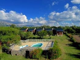 Foto Terreno en Venta | Alquiler en  Cortaderas,  Chacabuco  VENDO COMPLEJO DE CABAÑAS EN CORTADERAS SAN LUIS