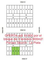 Foto Terreno en Venta en  Villa Parque Sicardi,  La Plata  CALLE 17 ENTRE al 670 y 671