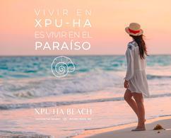 Foto Terreno en Venta en  Playa del Carmen,  Solidaridad  TERRENOS EN VENTA XPU-HA BEACH CON CLUB DE PLAYA PRIVADO