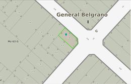 Foto Terreno en Venta en  General Belgrano,  General Belgrano  43 y al 100