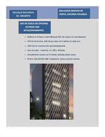 Foto Edificio Comercial en Venta en  Miguel Hidalgo ,  Ciudad de Mexico  EDIFICIO DE OFICINAS EN VENTA EN POLANCO, CIUDAD DE MEXICO