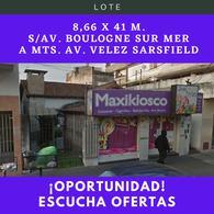 Foto Terreno en Venta en  Ciudad Madero,  La Matanza  Av. Boulogne Sur Mer al 1300