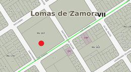 Foto Terreno en Venta en  Lomas de Zamora Oeste,  Lomas De Zamora  Santander y Los Andes