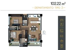 Foto Departamento en Venta en  Nuevo México,  Zapopan  Departamento Preventa Capital Norte $2,369,191 Fercha E1