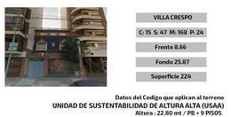 Foto Terreno en Venta en  Villa Crespo ,  Capital Federal  Frias al 100