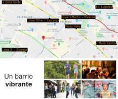 Foto Departamento en Venta en  Palermo Hollywood,  Palermo   EDIFICIO FR  DOS AMBIENTES PISO 2 - DPTO. # 7 FITZ ROY  1465