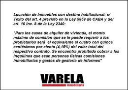 Foto Departamento en Alquiler en  Caballito ,  Capital Federal  Federico García Lorca 100