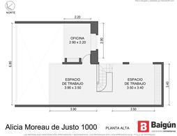 Foto Oficina en Alquiler en  Puerto Madero,  Centro  Alicia Moreau de justo al 1000