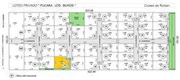 Foto Terreno en Venta en  Roldan,  San Lorenzo  Barrio Privado Pucara Los Buhos - Lote 39 - Roldán