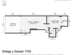 Foto Departamento en Venta en  Las Cañitas,  Palermo  Ortega y Gasset al 1700