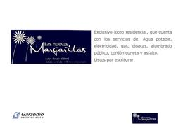 Foto thumbnail Terreno en Venta en  Trelew ,  Chubut  Las Nuevas Margaritas