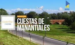 Foto Terreno en Venta en  Cuestas de Manantiales,  Cordoba Capital  Cuesta de Manantiales