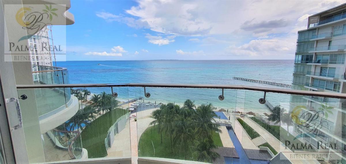Foto Departamento en Venta en  Zona Hotelera,  Cancún  CONDOMINIO FRENTE AL MAR (EXCELENTE ZONA)