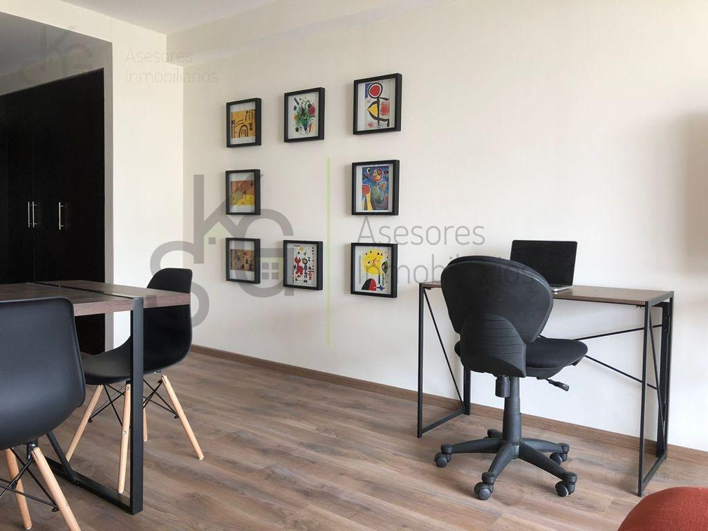 Foto Departamento en Renta en  Bosques de las Palmas,  Huixquilucan  SKG Asesores Inmobiliarios Renta Excelente Suite remodelada en Circuito Empresarial, amueblada, Bosques de las Palmas, Interlomas