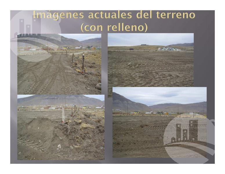 Foto Terreno en Venta en  El Calafate,  Lago Argentino  Terreno con proyecto de hosteria 3*