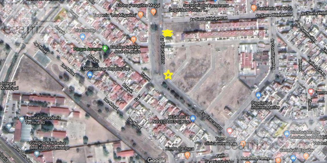 Foto Terreno en Venta en  Piracantos,  Pachuca  LOTES COMERCIALES  PIRACANTOS, PACHUCA
