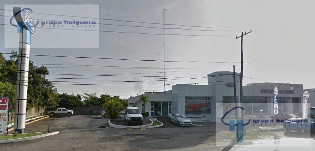 Foto Terreno en Venta en  Laguna de La Puerta,  Altamira  TV-332 TERRENO CON CONSTRUCCIÓN ANTES (EX AGENCIA FORD) SOBRE AVENIDA DE LA INDUSTRIA  ALTAMIRA TAMAULIPAS
