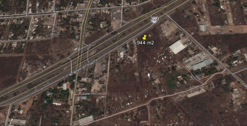 Foto Terreno en Venta | Renta en  La Guadalupana,  Mérida  Se Vende y Renta Terreno Sobre Periférico Sur en Esquina de 5,944 m2.