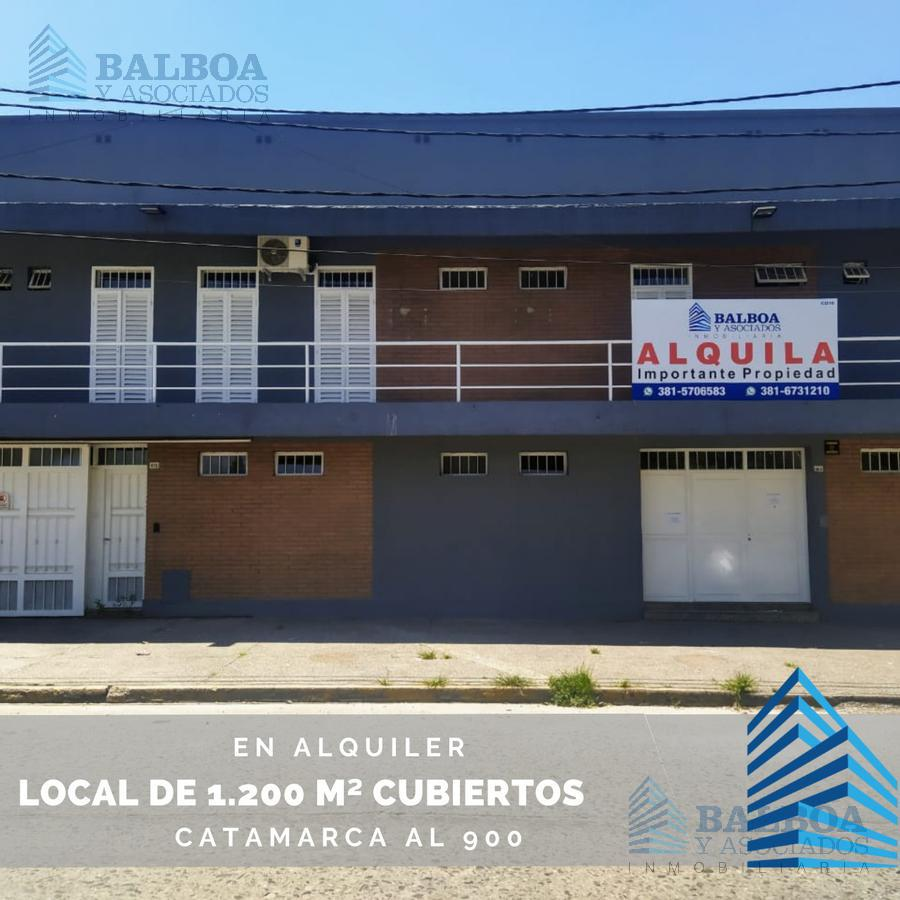 Foto Local en Alquiler en  Barrio Norte,  San Miguel De Tucumán  Catamarca al 900