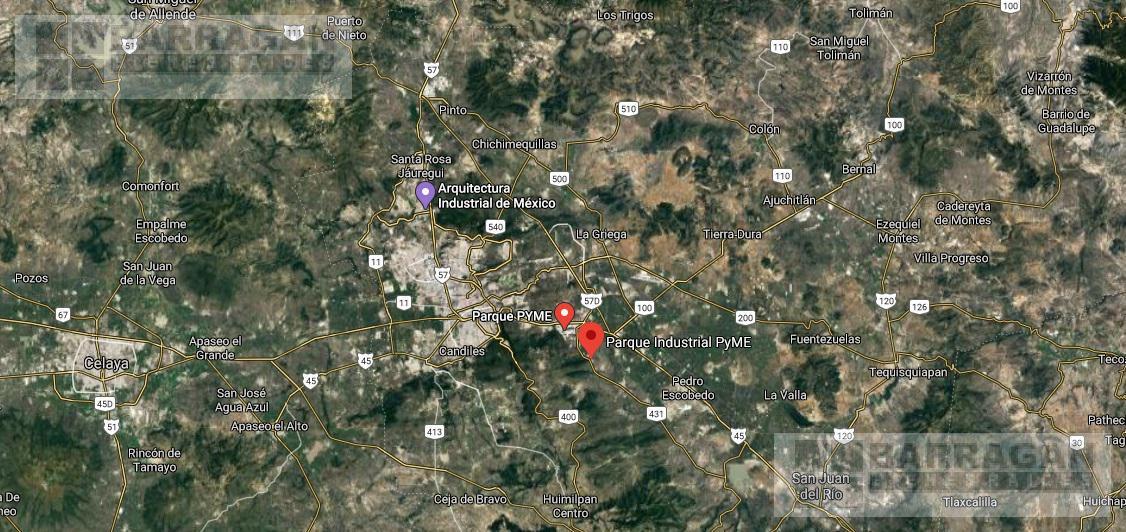 Foto Bodega Industrial en Renta en  El Marqués,  Querétaro  Bodega en renta Parque Industrial Pyme Querétaro