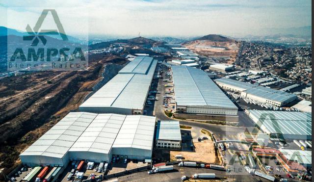 Foto Bodega Industrial en Renta en  San Martín Obispo,  Cuautitlán Izcalli  Av. Tejocotes S/N