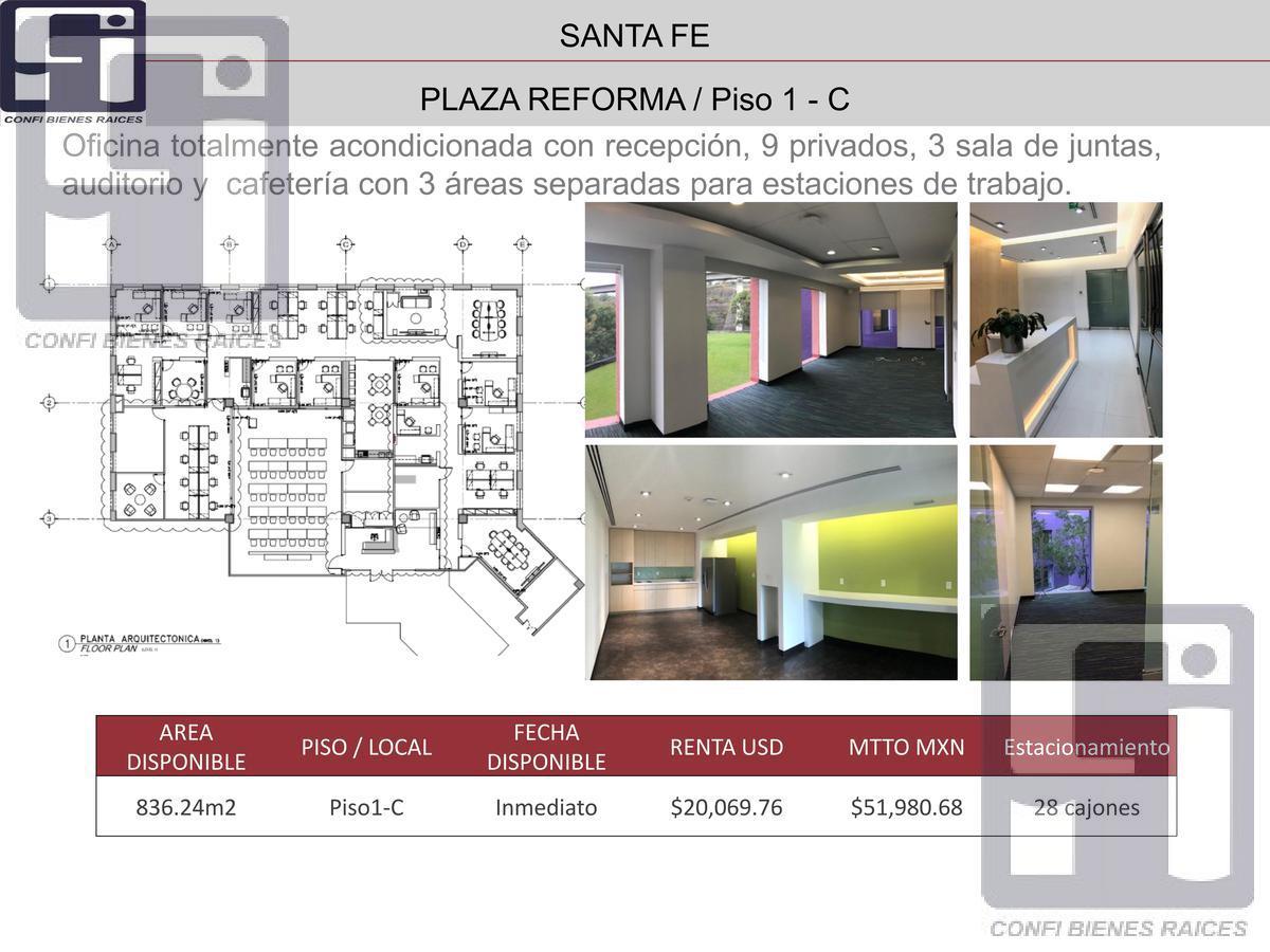 Foto Oficina en Renta en  Paseo de las Lomas,  Alvaro Obregón  Oficinas Acondicionadas Renta en Prol. Paseo de la Reforma  Paseo de las Lomas
