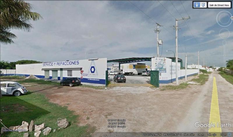 Foto Edificio Comercial en Renta en  Conkal ,  Yucatán  Edificio con bodegas, oficinas, naves y patio de Maniobras 4,431 m2