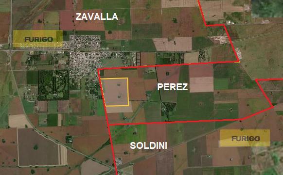 Foto Campo en Venta en  Perez ,  Santa Fe  Pérez, sobre camino a Arnold
