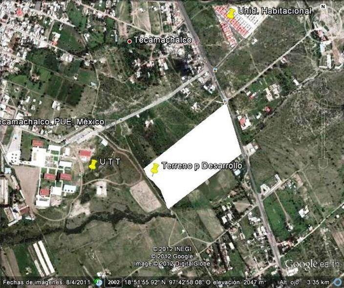 Foto Terreno en Venta    en  La Villita,  Tecamachalco  Terreno en venta, Zona la Villita