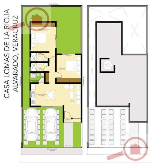 Foto Casa en Venta en  Fraccionamiento Lomas de la Rioja,  Alvarado  Casa en Venta en Lomas de la Rioja II de una Planta