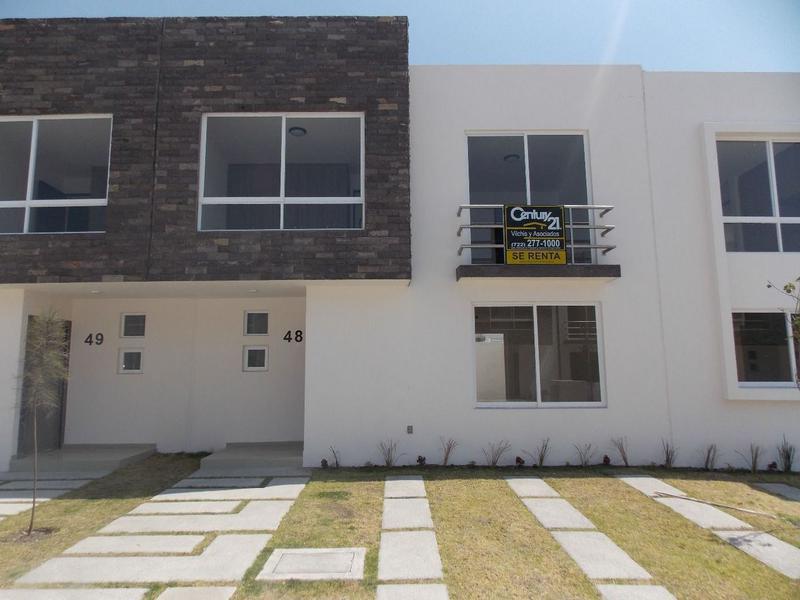 Foto Casa en condominio en Renta en  San Mateo Atenco Centro,  San Mateo Atenco          CASA HABITACIÓN EN RENTA UBICADA EN SAN MATEO ATENCO  CONJUNTO GRAFITO