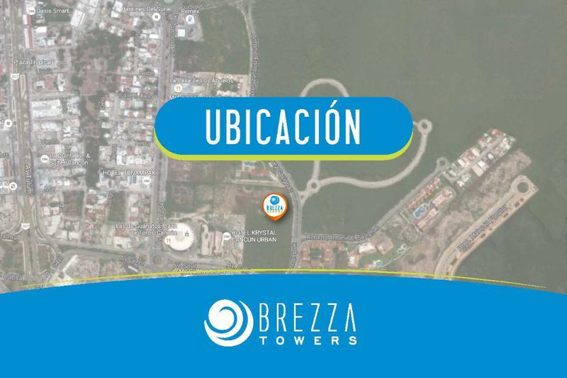 Foto Departamento en Venta en  Puerto Cancún,  Cancún  Departamento en Venta en Cancún,  BREZZA TOWERS de 3 Recámaras,. El Table.