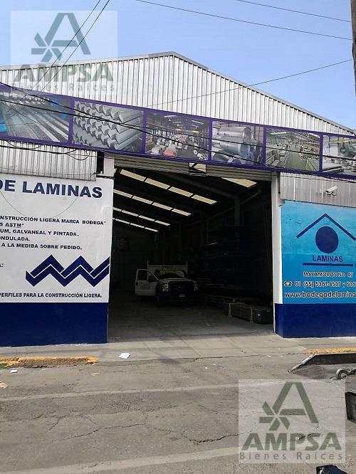 Foto Bodega Industrial en Venta en  Tlalnepantla  Centro,  Tlalnepantla de Baz  Matamoros