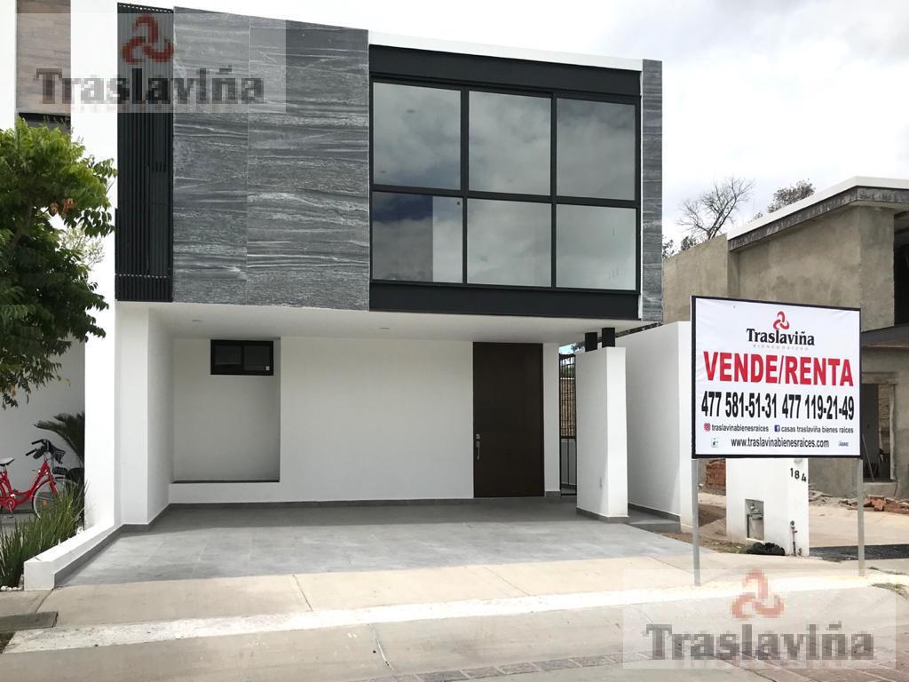 Foto Casa en Renta en  El Mayorazgo,  León  Casa NUEVA frente AREA VERDE en Mayorazgo