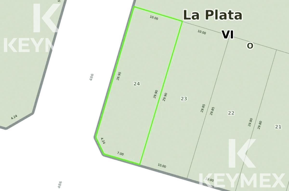 Foto Terreno en Venta en  Manuel B Gonnet,  La Plata  Espectacular Lote en Gonnet. Calle 26 Y 486. Duplex o Locales