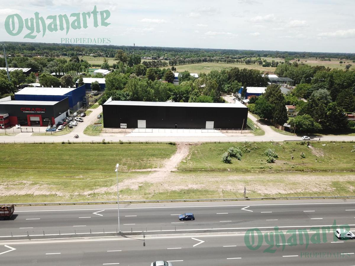 Foto Depósito en Alquiler en  Francisco Alvarez,  Moreno  Acceso Oeste Colectora Norte Km 43 entre La Providencia y Tiradentes