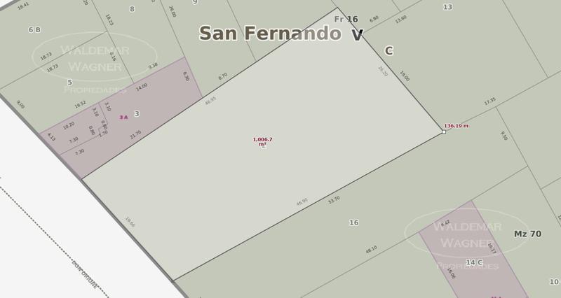 Foto Terreno en Venta en  Victoria,  San Fernando  Peron 3350