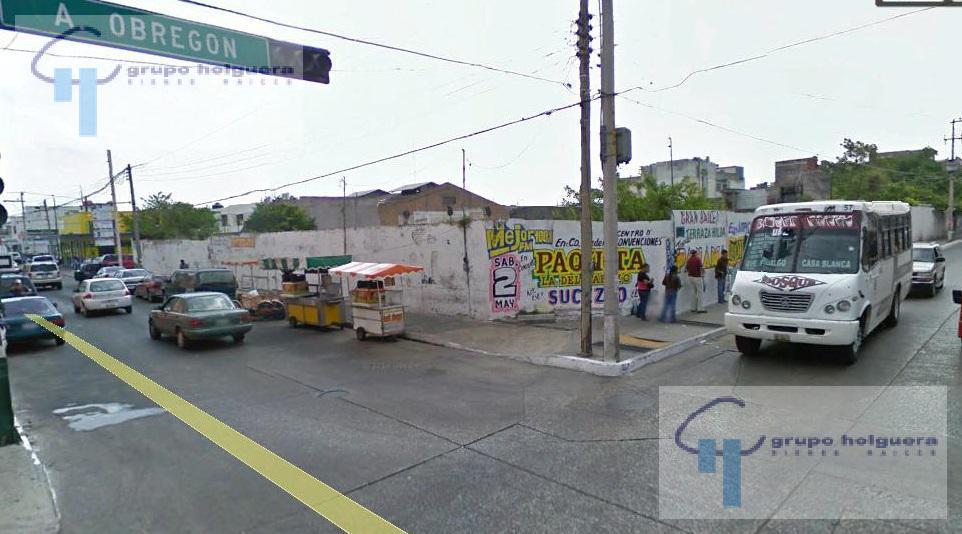 Foto Terreno en Venta en  Tampico Centro,  Tampico  TV-238 EXCELENTE TERRENO EN VENTA EN LA ESQUINA  DE OBREGON Y ADUANA, ZONA CENTRO, TAMPICO TAMAULIPAS.