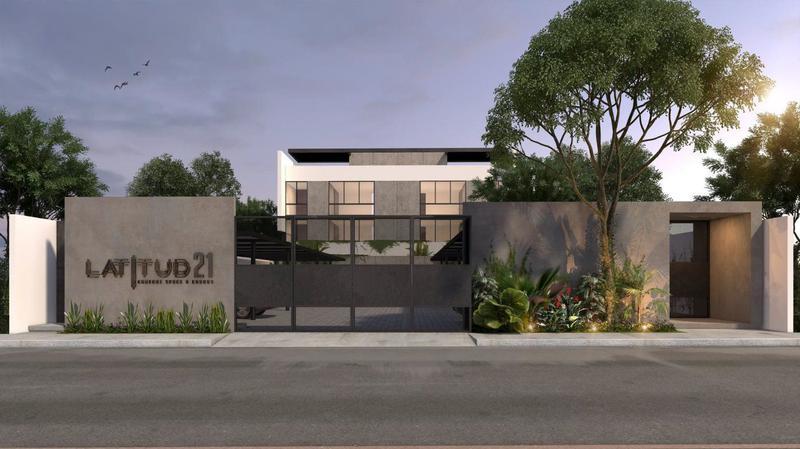 Foto Departamento en Venta en  Montes de Ame,  Mérida  LATITUD 21 departamentos residenciales MODELO A y B