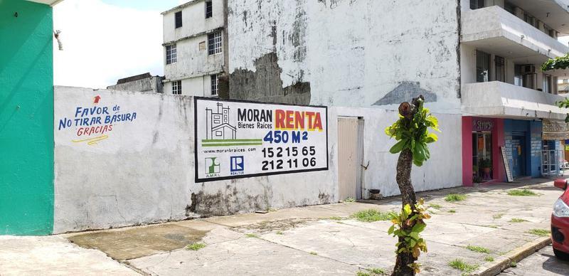 Foto Terreno en Renta en  Coatzacoalcos Centro,  Coatzacoalcos  Vicente Guerrero No. 200, zona Centro, Coatzacoalcos, Veracruz