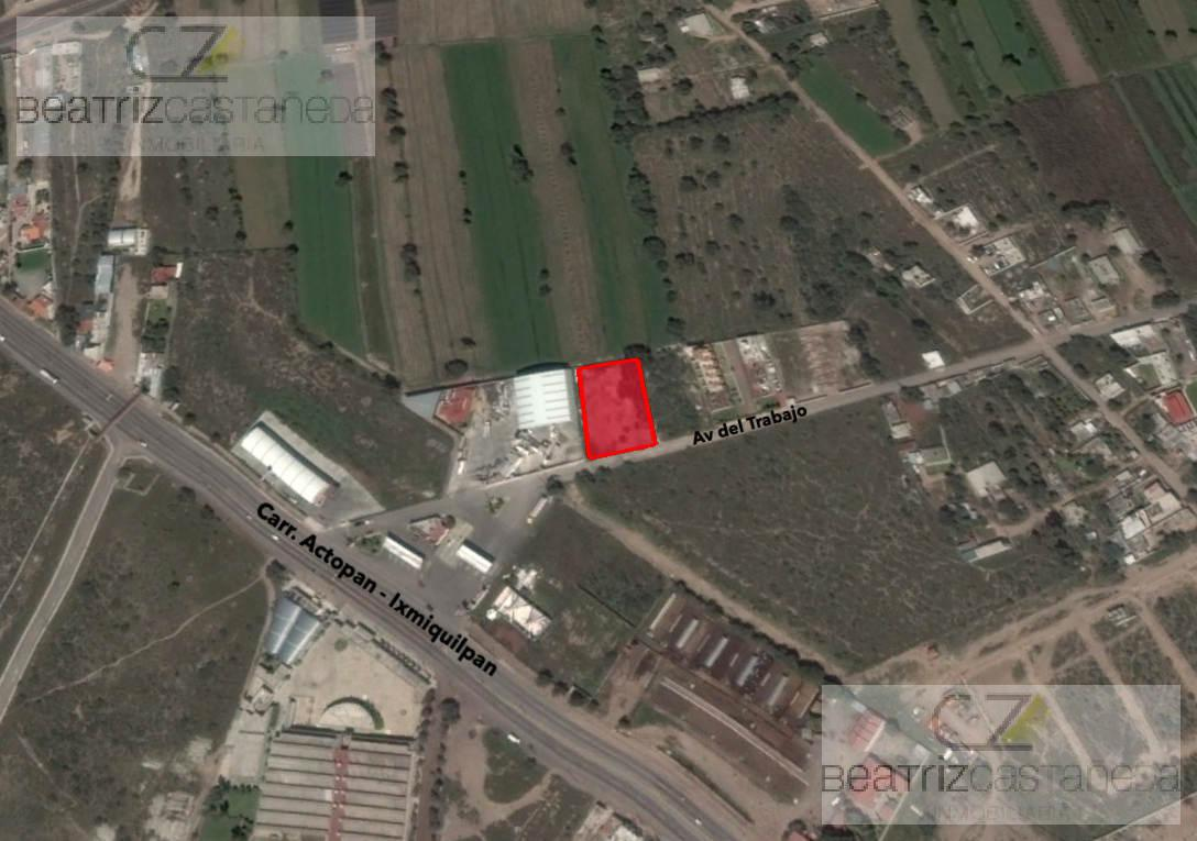 Foto Terreno en Venta en  Actopan ,  Hidalgo  TERRENO, CAÑADA AVIACION, ACTOPAN