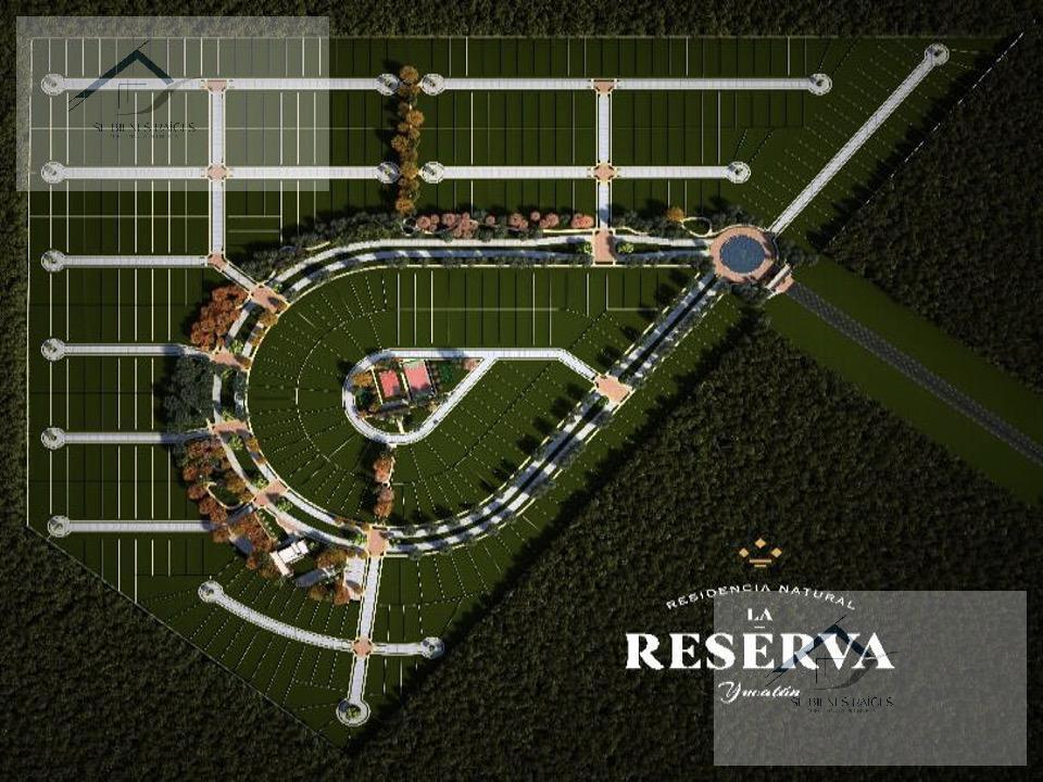 Foto Terreno en Venta    en  Conkal ,  Yucatán  Lotes Residenciales en La Reserva Conkal venta